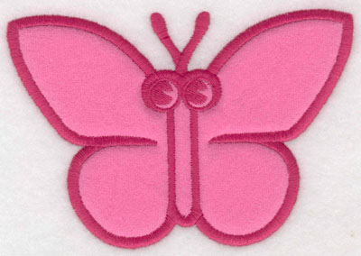 Embroidery Design: Butterfly applique5.00w X 3.43h