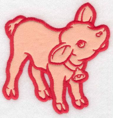 Embroidery Design: Calf applique4.64w X 5.00h