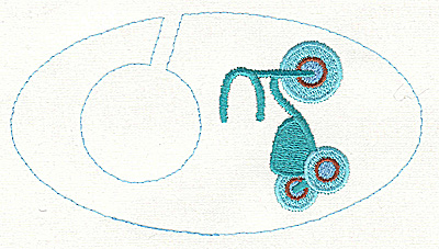 Embroidery Design: Closet divider boys Tricycle 5.40w X 2.91h