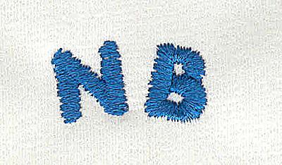 Embroidery Design: Closet divider boys NB (new born) 4.82w X 0.94h