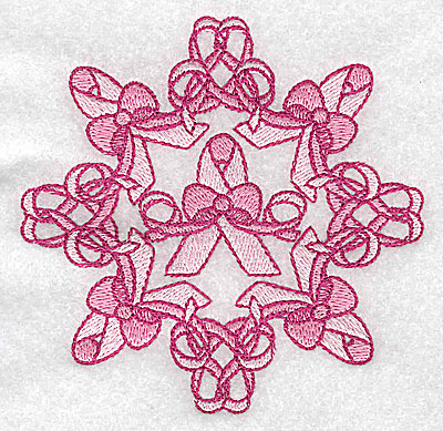 Embroidery Design: Bows and ribbons small 3.85w X 3.85h