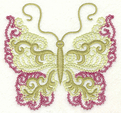 Embroidery Design: Butterfly 2 large 4.96w X 4.75h