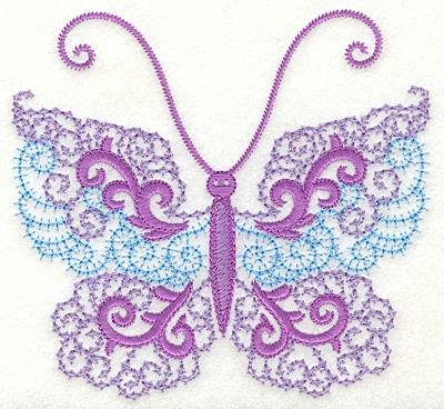 Embroidery Design: Butterfly 3 large 4.97w X 4.62h