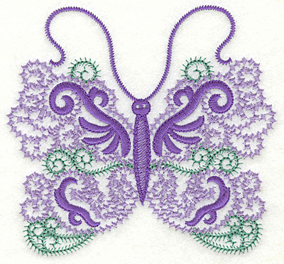 Embroidery Design: Butterfly 8 large 4.96w X 4.58h