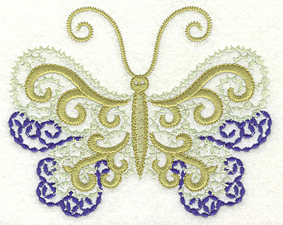 Embroidery Design: Butterfly 10 large 4.98w X 4.00h