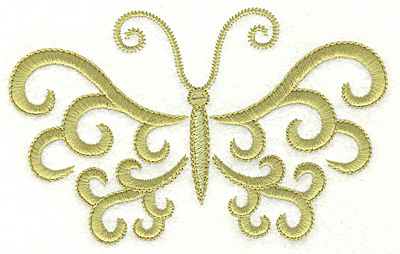 Embroidery Design: Butterfly body 1 large 4.98w X 3.09h