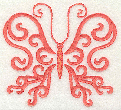 Embroidery Design: Butterfly body 2 large 4.95w X 4.54h