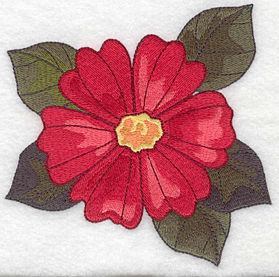 Embroidery Design: Cosmos large 4.97w X 4.91h