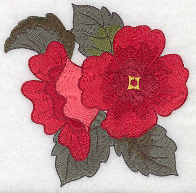 Embroidery Design: Anemone large 4.92w X 4.98h
