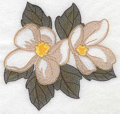 Embroidery Design: Blossom large 4.98w X 4.89h