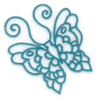 Embroidery Design: Butterfly D 2.72w X 2.76h
