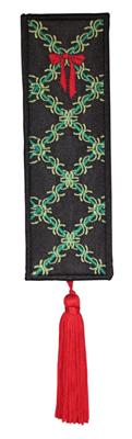 Embroidery Design: Bookmark 205 Ribbon design2.29w X 6.79h