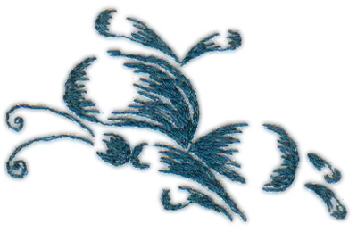 """Embroidery Design: Butterfly 102.47"""" x 1.57"""""""