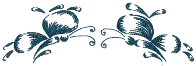 """Embroidery Design: Butterflies and Bubbles 277.94"""" x 2.53"""""""