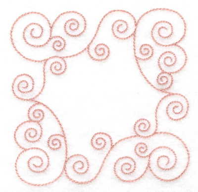 Embroidery Design: Block swirls small 3.89w X 3.89h