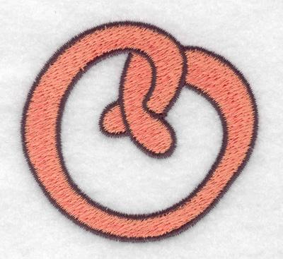 Embroidery Design: Pretzel 2.51w X 2.33h