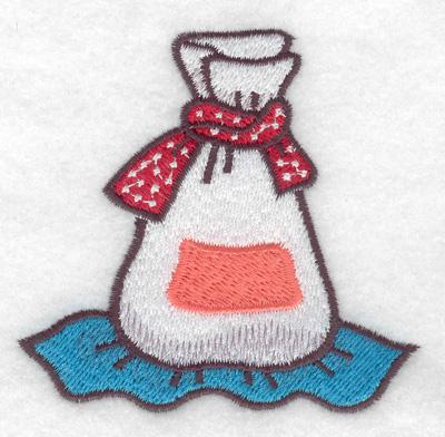 Embroidery Design: Bag of flour 3.10w X 3.04h