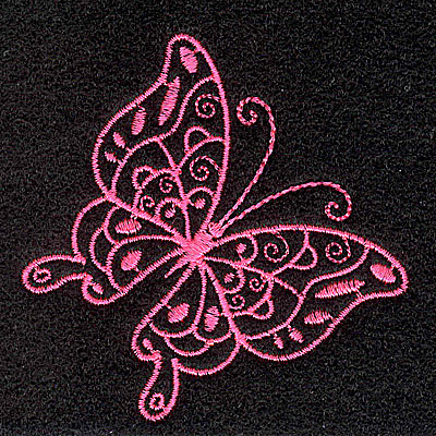 Embroidery Design: Butterfly A 2.59w X 2.60h