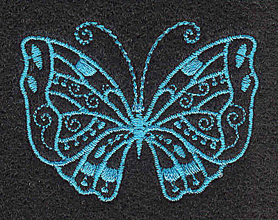 Embroidery Design: Butterfly B 2.01w X 1.50h
