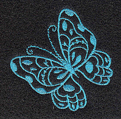 Embroidery Design: Butterfly D 2.00w X 2.01h