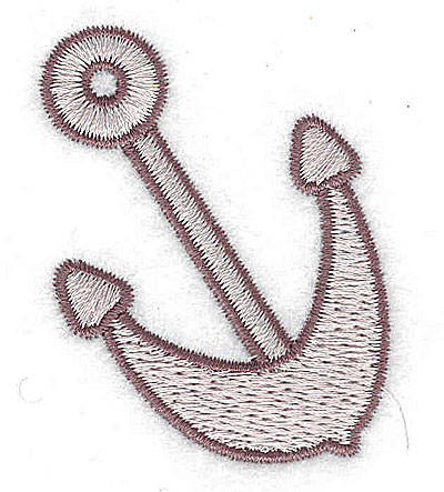 Embroidery Design: Anchor small 1.68w X 2.07h