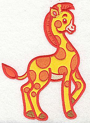 Embroidery Design: Giraffe two appliques 6.97w X 4.95h
