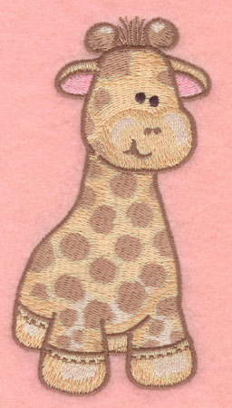 Embroidery Design: Giraffe large2.63w X 5.00h