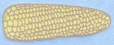 Embroidery Design: Corn on the cob large 4.51w X 1.64h