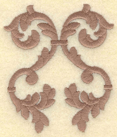 Embroidery Design: Classic Embellishment One Color2.58w X 3.00h