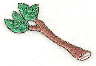 Embroidery Design: Tree Branch   2.31w X 1.56h