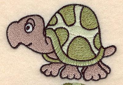 "Embroidery Design: Turtle small 3.06""w X 2.13""h"