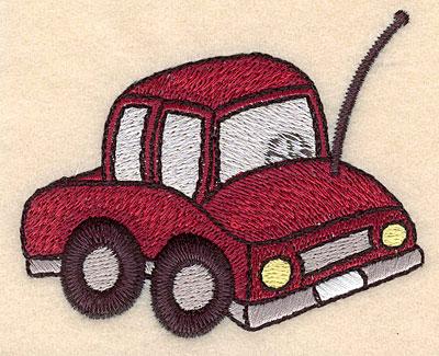 "Embroidery Design: Car small 3.47""w X 2.89""h"