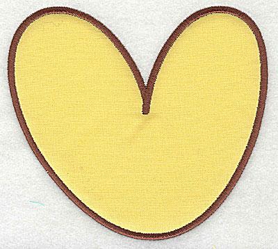 Embroidery Design: V applique 3.00w X 3.50h