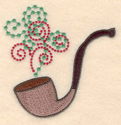 Embroidery Design: Pipe large3.22w X 3.28h
