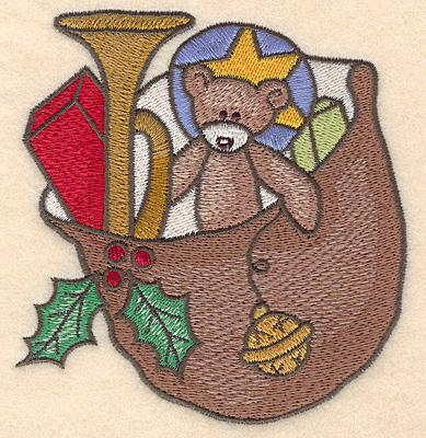 Embroidery Design: Santa's sack large4.38w X 4.63h
