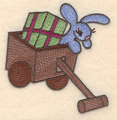 Embroidery Design: Toy wagon small 3.40w X 3.56h