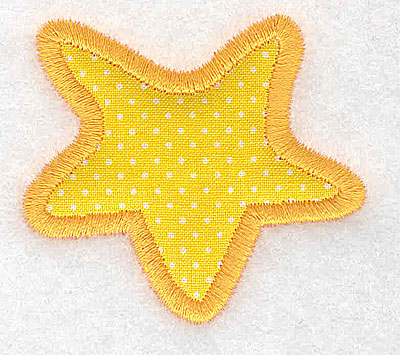 Embroidery Design: Star (applique)  2.25w X 2.03h