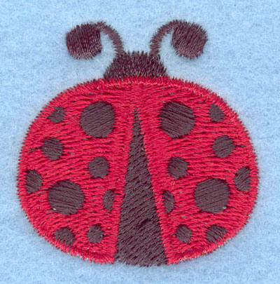 Embroidery Design: Ladybug flying small1.59w X 1.62h