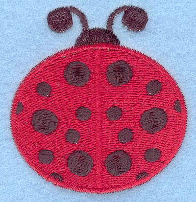 Embroidery Design: Ladybug large2.38w X 2.54h