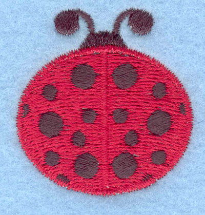 Embroidery Design: Ladybug small1.59w X 1.70h