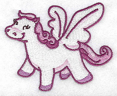 Embroidery Design: Pegasus D 3.62w X 2.98h