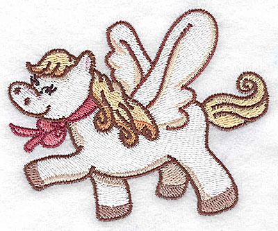 Embroidery Design: Pegasus F 3.73w X 3.07h