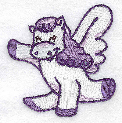 Embroidery Design: Pegasus H 3.10w X 3.17h