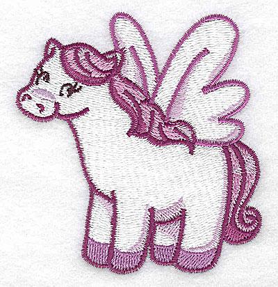 Embroidery Design: Pegasus J 3.09w X 3.24h