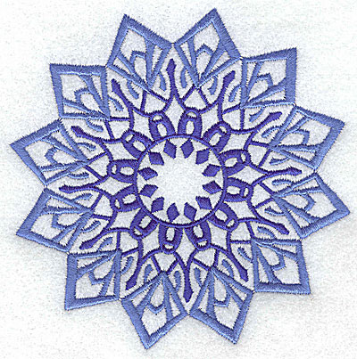 Embroidery Design: Snowflake 1 large 4.98w X 4.98h