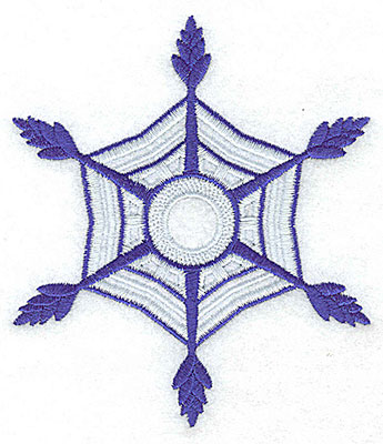 Embroidery Design: Snowflake 3 large 4.31w X 4.94h