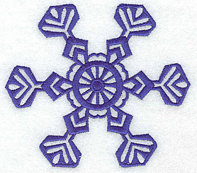 Embroidery Design: Snowflake 4 large 4.99w X 4.41h