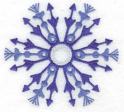 Embroidery Design: Snowflake 5 medium 3.84w X 3.49h