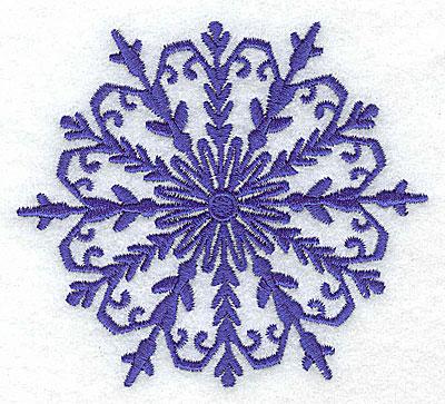 Embroidery Design: Snowflake 6 medium 3.34w X 3.77h