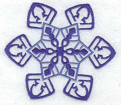 Embroidery Design: Snowflake 7 medium 3.88w X 3.37h